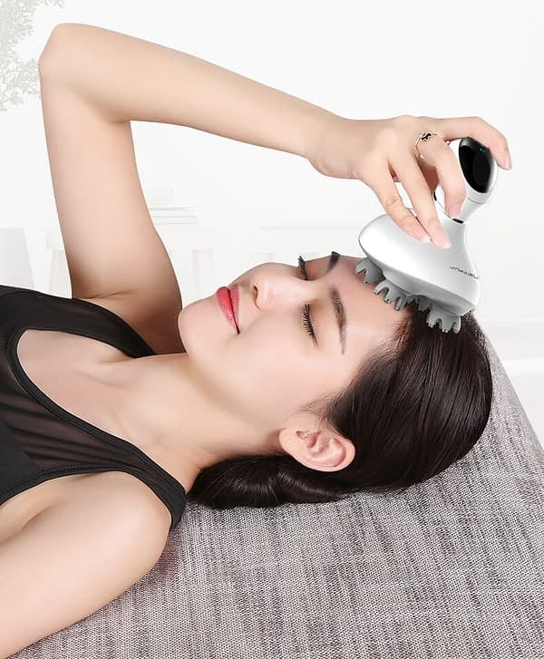 Electronic Scalp And Body Massager