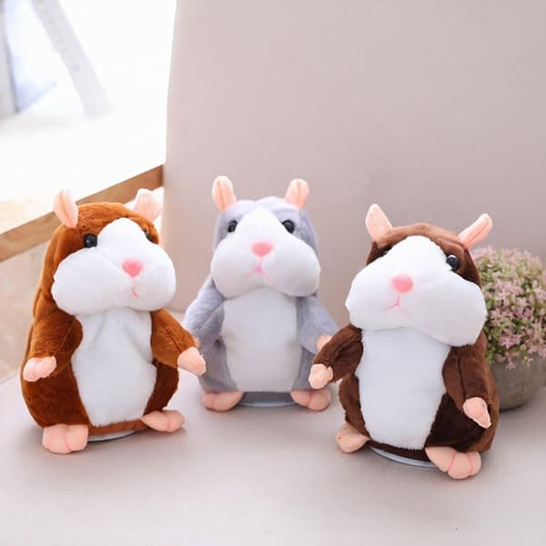 Talking Hamster Plush Toy